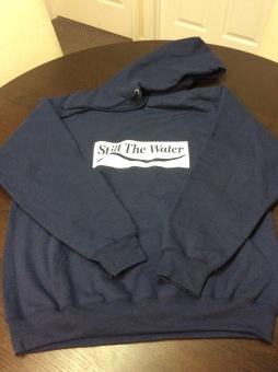 navy blue everyday hoodie - cadcut