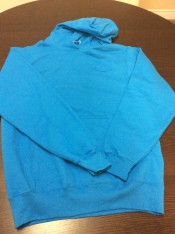 sapphire everyday hoodie - color on color embroid